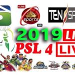 PSL 2019 Live Score