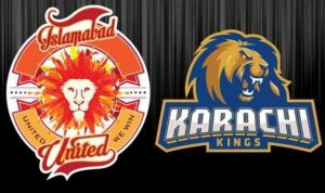 13 match Karachi Kings vs Islamabad United PSL 2019 Live scores