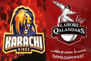 Lahore Qalandars vs Karachi Kings PSL 2019 live stream Feb 16, 2019