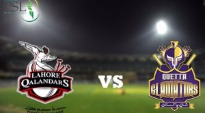 Lahore Qalader Vs Quetta Gladiators Psl 2019-17th match Live Score/Live Stream